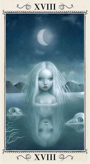 Free Daily Tarotscope — Oct 8, 2014 — The Moon -- There's a full moon lunar eclipse today in Aries which is also happening very close to the unpredictable planet Uranus. Although there is a lot going on with the eclipse it seems you just want to hide away and be by yourself without anyone around you except your own thoughts and emotions for company ... (more)...