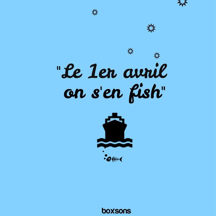 Visuel by Boxsons - #fish, #poisson, #avril, #april