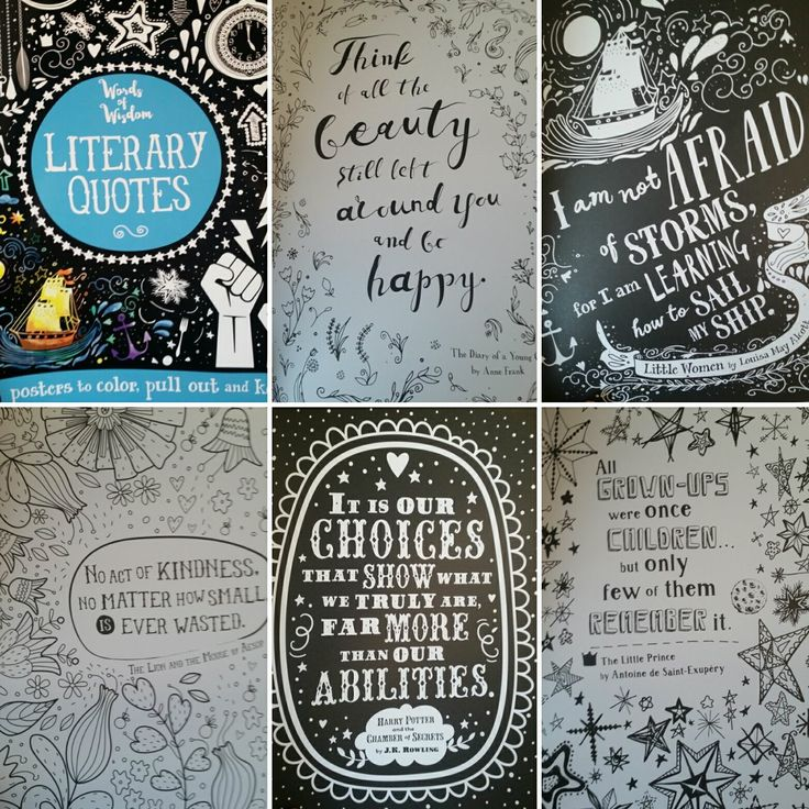 Usborne Coloring Books Adult Quotes - Worksheet & Coloring Pages
