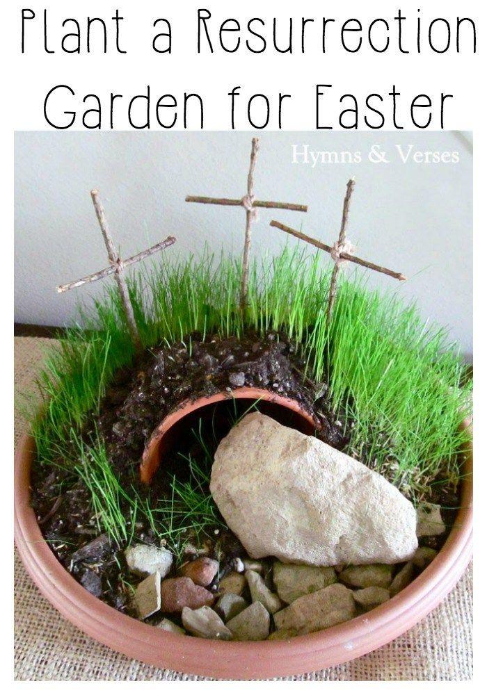 Plant a Resurrection Garden - Hymns and Verses