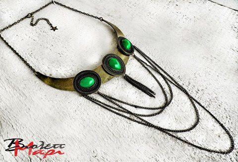 Necklace / boho style summer