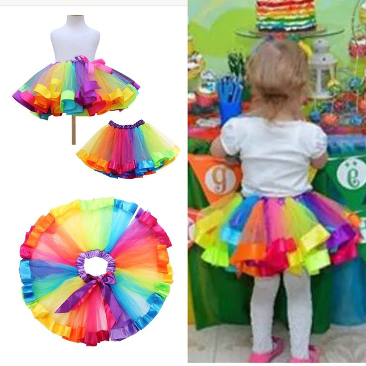 Excited to share the latest addition to my #etsy shop: UNDERMYWINGCo at Esty. Toddler Tutu Rainbow child Shirt Ballerina Prop Party Costume Entire    Accessories Size Small. #Rainbow#TUTU#Love#