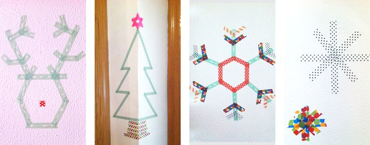 ¡Decoramos con WashiTape! ❆ ☃