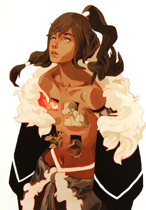 "Preview of ""The Legend of Korra / Avatar : The Last..."