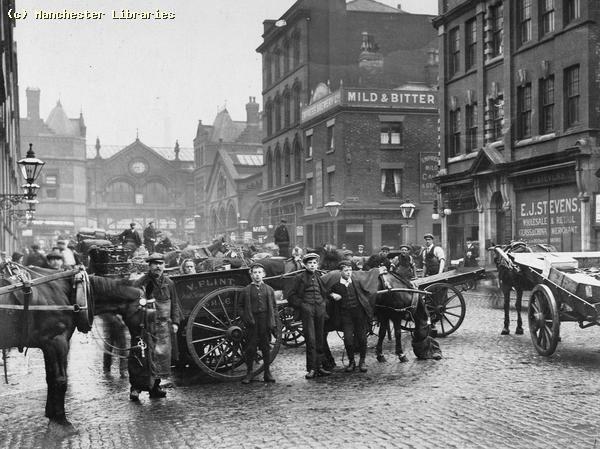 Smithfield Market, High Street entrance, 09/08/1907