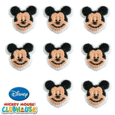 Disney Mickey Mouse Clubhouse Icing Decorations | 9ct for $2.50 in Mickey Mouse - Party Themes