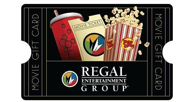 $50 Regal Entertainment Group Gift Card $40.00 (ebay.com)