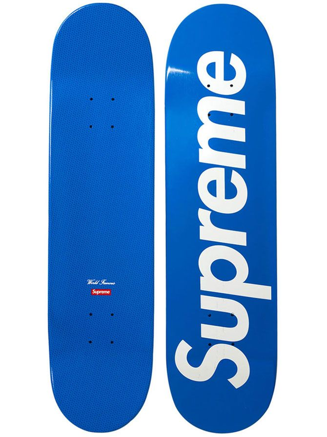 Bold and to the point. I like the design because the brand is self promoting themselves while also telling skaters to be supreme
