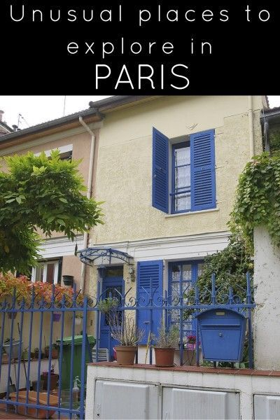 Must see list of unusual things to do in Paris. If you are looking to go off the beaten path, this is a great list of areas to check out. For the full story, click this pin.