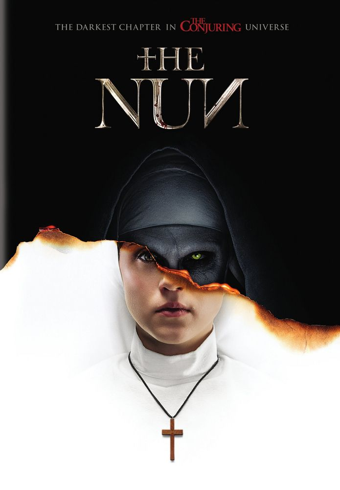 The Nun Dvd 2018 Best Buy Scary Movies The Conjuring Thriller Movies