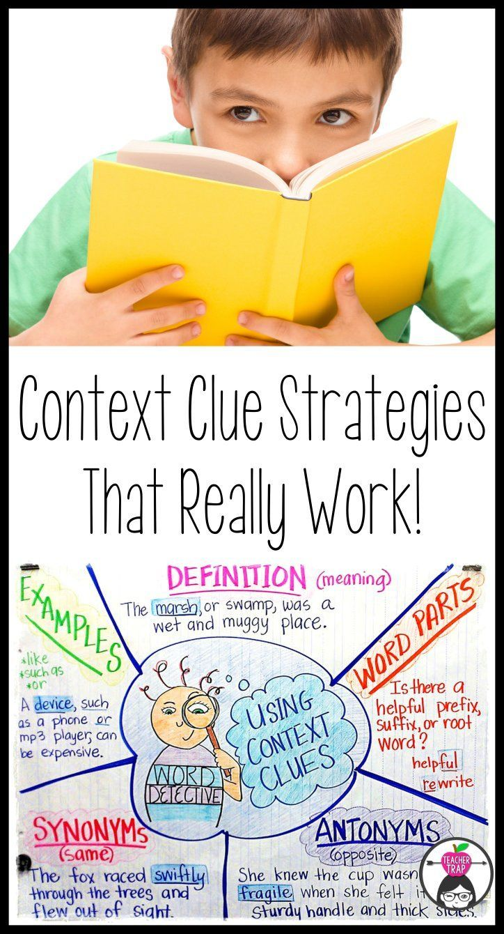 Learn about different types of context clues and how to teach students to recognize and use these clues more effectively!