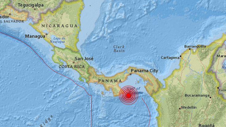 """#panama Se registra un """"fuerte"""" temblor en la ciudad de Panamá - RT en Español - Noticias internacionales #orbispanama"""
