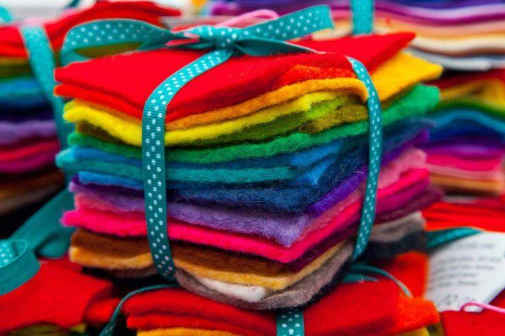 100% wool felt stack, £12.00