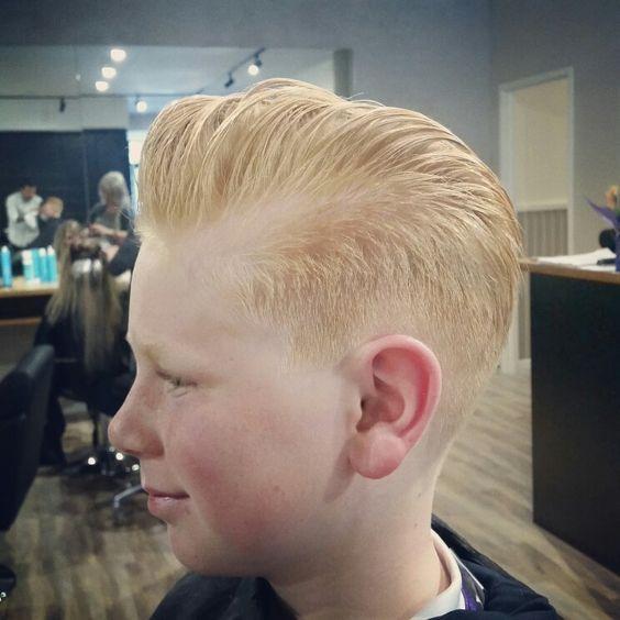 Pompadour Haircut Ideas for Boys!