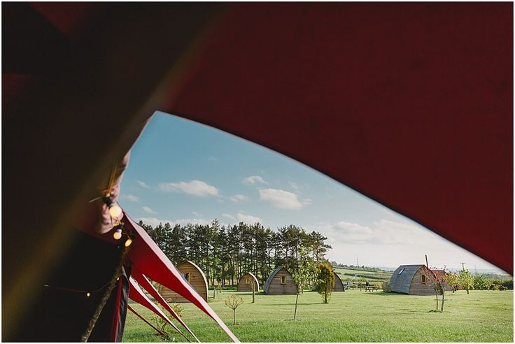 Absolutely love this image of the wedding of Olivia and Ralph, owners of Northside Farm Wigwams