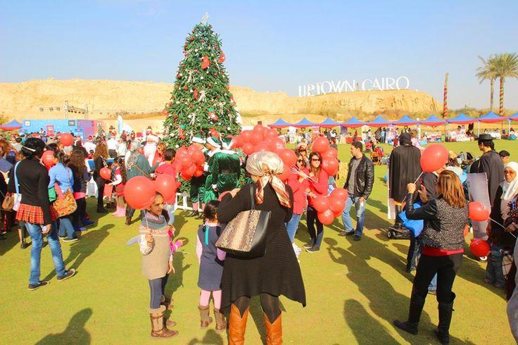 Are you enjoying the festivities? #emaarmisr #uptowncairo #christmas