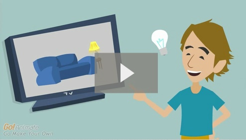 Not an app, but cool: Make a video online for free with GoAnimate! Make videos for YouTube and Facebook, create business and educational videos, make animated e-cards and ...  http://goanimate.com