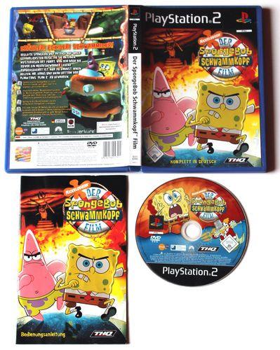 SpongeBob Schwammkopf - Der Film für Playstation2,in OVP!