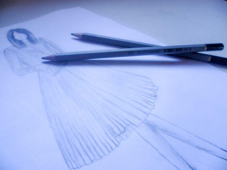 Fashion drawing