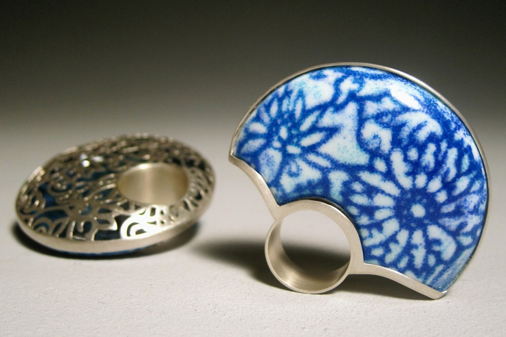 Heng Lee Blue and White- Rings