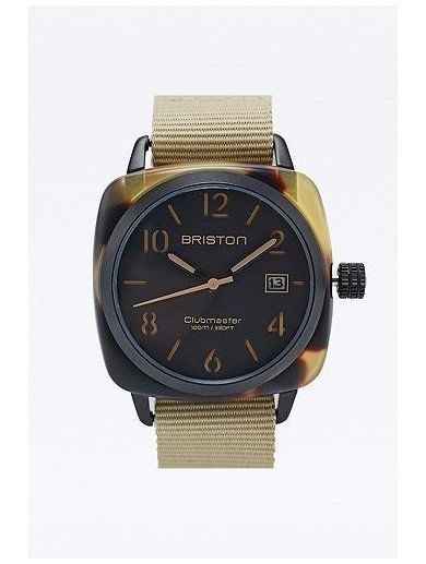Briston Clubmaster HMS Watch in Tortoiseshell