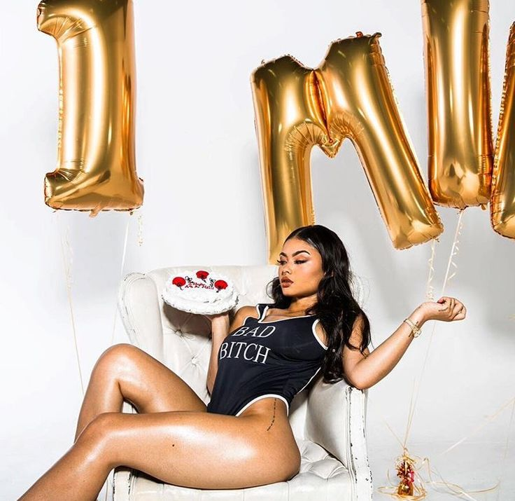 Urban Streetwear Swag Fashion Bad Bitch Vest Tank Top Style Trend Cake India Love India Westbrooks 1 Million Instagram Followers Photoshoot Sexy Dope Balloons Baddie On Fleek