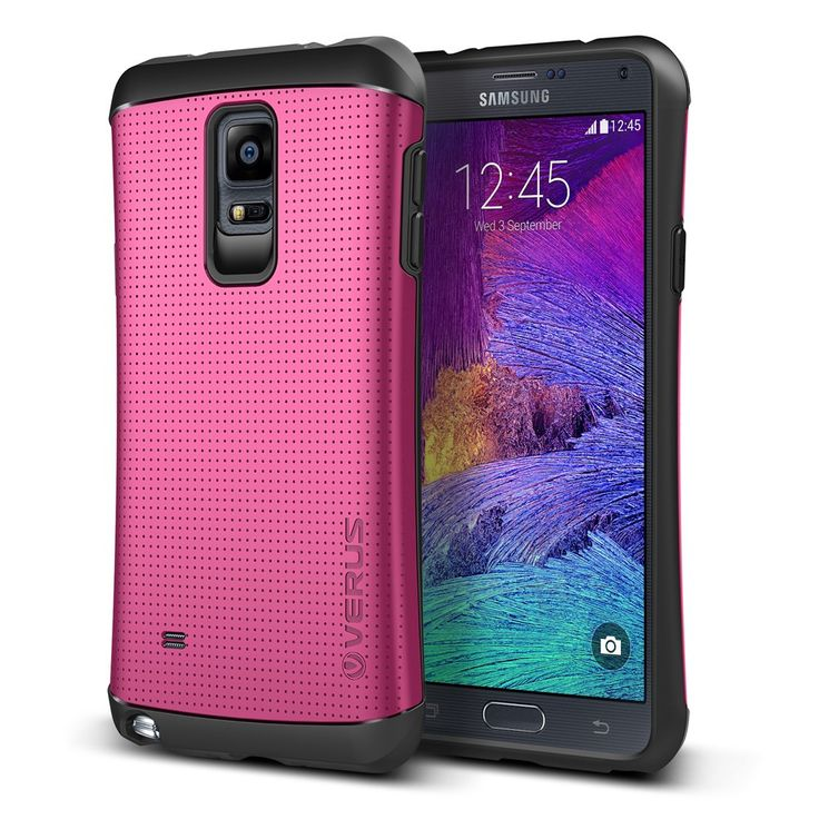 Verus Samsung Galaxy Note 4 Case Thor Series - Hot Pink