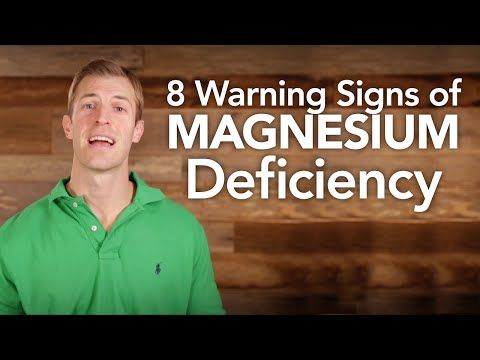 Magnesium Deficiency Symptoms & How to Treat It - Dr. Axe