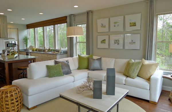 Accentuate With Freshness: 52 Modern Day Neutral Interiors With A Splash Of Green Goodness | Decor Advisor