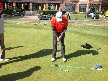 Putt like the pros. Great for warm-ups on The Green. Practice makes perfect with the #PuttingStick @TPKGolf http://ow.ly/9nka304D9cT