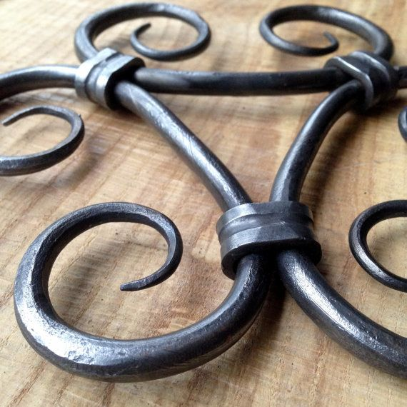 Hand forged trivet