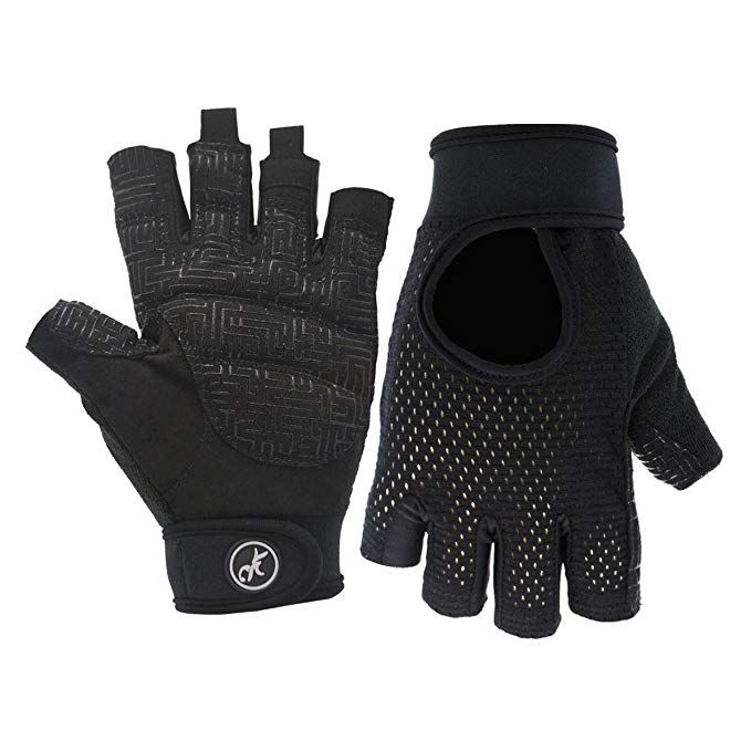 Men Women Yoga Fitness Gloves Weight Lifting Gym Training Sports Bicycle Gloves
