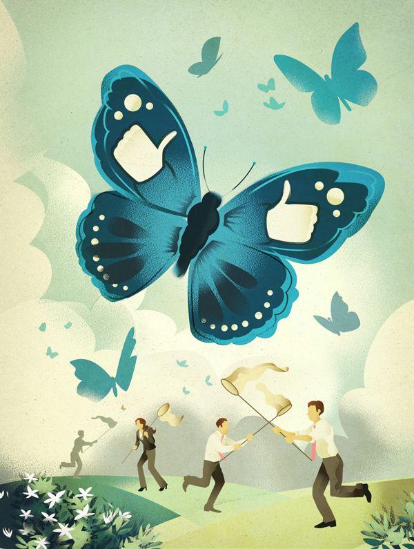 Magazine Illustration #11 on Behance