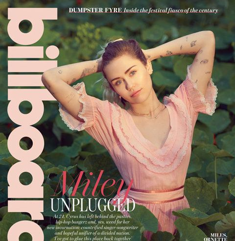 "Shaken by the election and inspired by her broad platform on The Voice, Miley Cyrus is about to emerge from a social media blackout with rootsy new music and a mission to connect with country fans and Trump voters -- even as she calls out misogyny in hip-hop and fights for transgender rights. ""Im giving the world a hug,"" she says at her home in Malibu."