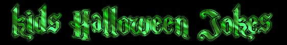 Green Kids Halloween Jokes Banner