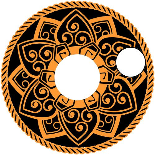 Copper Celtic Mandala