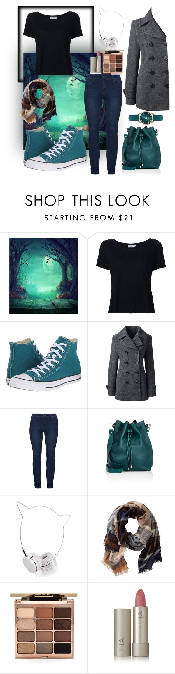 """""""Turquesa"""" by nady26 ❤ liked on Polyvore featuring Frame Denim, Converse, Lands' End, Proenza Schouler, Skinnydip, TravelSmith, Stila, Ilia and Henry London"""