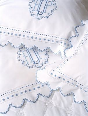 Wouldn't this be beautiful on Samantha's brass bed...  More ideas for an American Girl Dream House