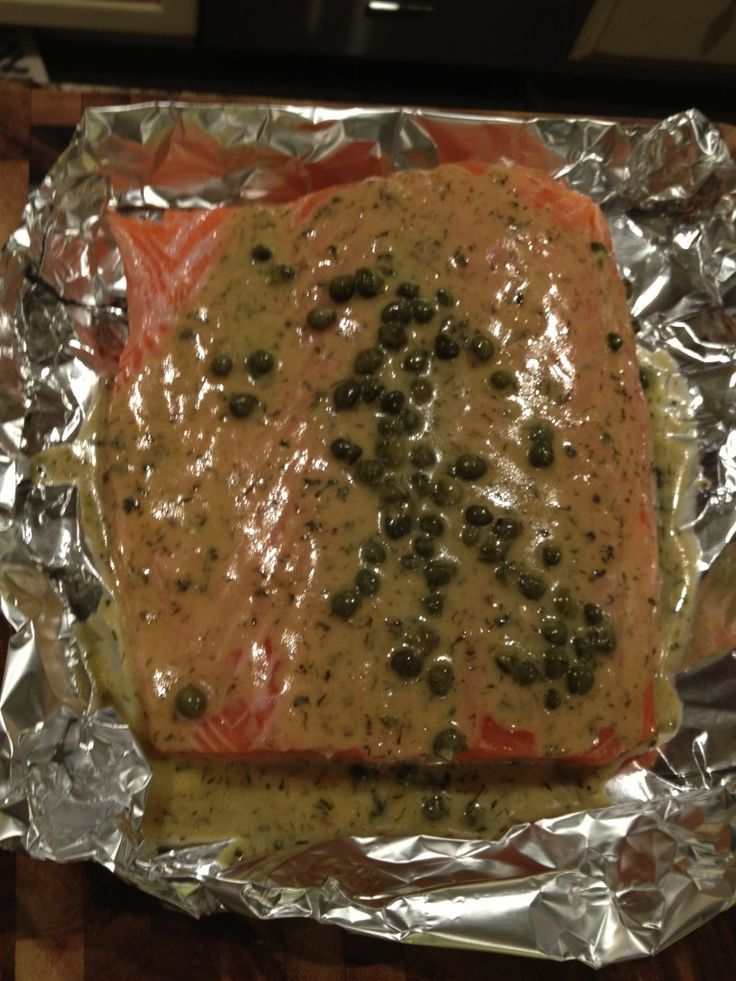 Famous Salmon Recipe - easy, foolproof, and universally loved by all.