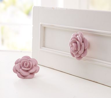 This would be a great idea for refinishing Rylee's old dresser... which is missing a knob. :)