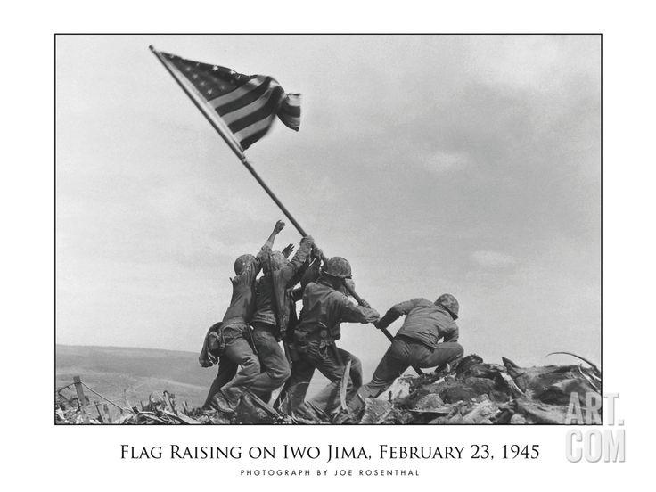 Flag Raising on Iwo Jima, c.1945, by Joe Rosenthal