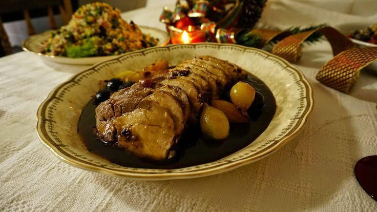 Marcos Bortolozo Gourmet & Catering: Lombo Suíno servido no molho reduzido de jabuticab...