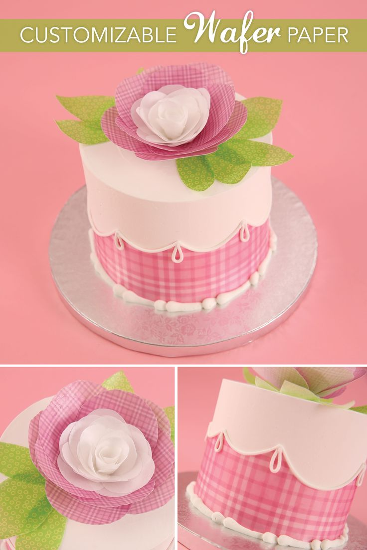57 best birthday wishes images on pinterest birthday wishes edible wafer paper used to create flowers bows and more wafer papercute cakesbirthday wishesto create dhlflorist Image collections