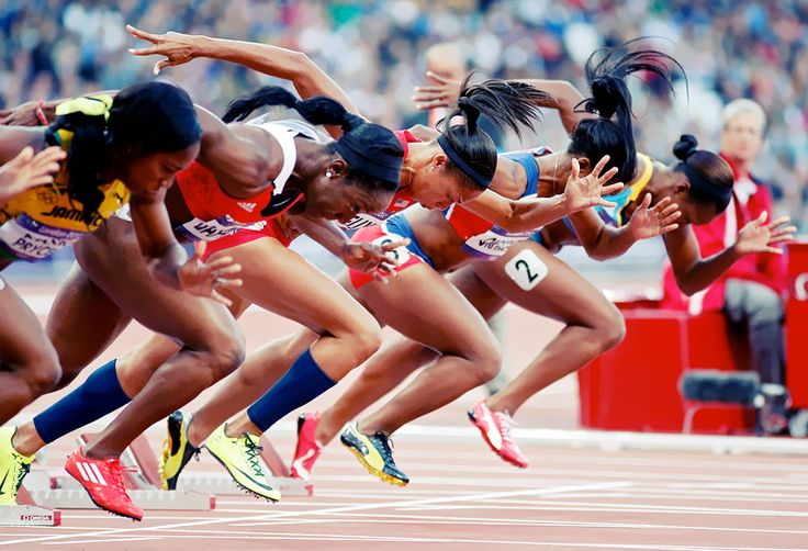 Olympic Track Stars pound for pound the most powerful athletes in the world ~gabriel anthony garza