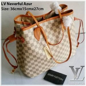 Tas Wanita LV LOUIS VUITTON Neverfull Import Semi Super TWTW1212