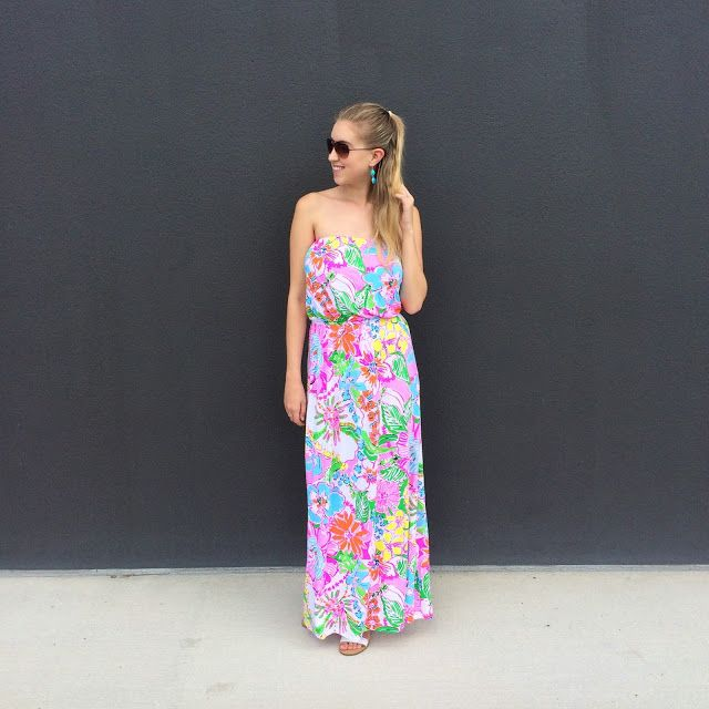 Noise posey maxi dress blog