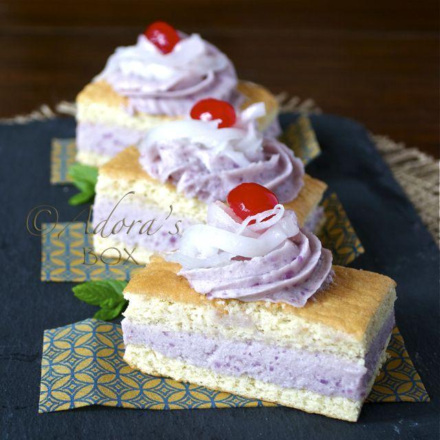 Inipit Leche Cake Recipe