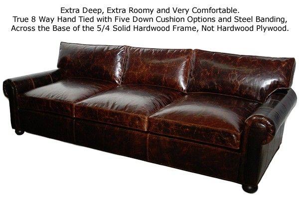 Leather Sofa Casco Bay Furniture