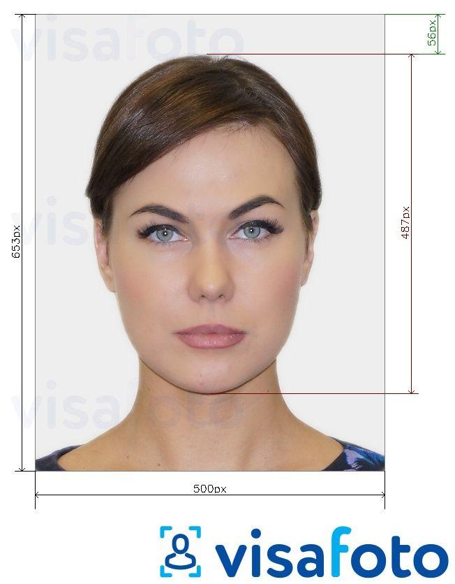 Finland Passport Online Photo 500x653 Pixels Size Tool Requirements Cifrovaya Fotografiya Fotografii Ton