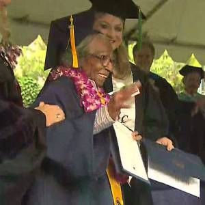 Doreetha Daniels, 99, Graduates from College of the Canyons